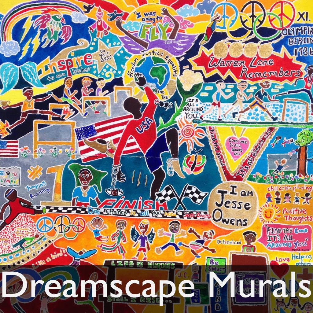 dreamscape murals TG home